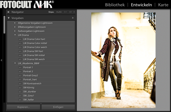 "LIK Lightroom Presets "" Fashion Drama"""